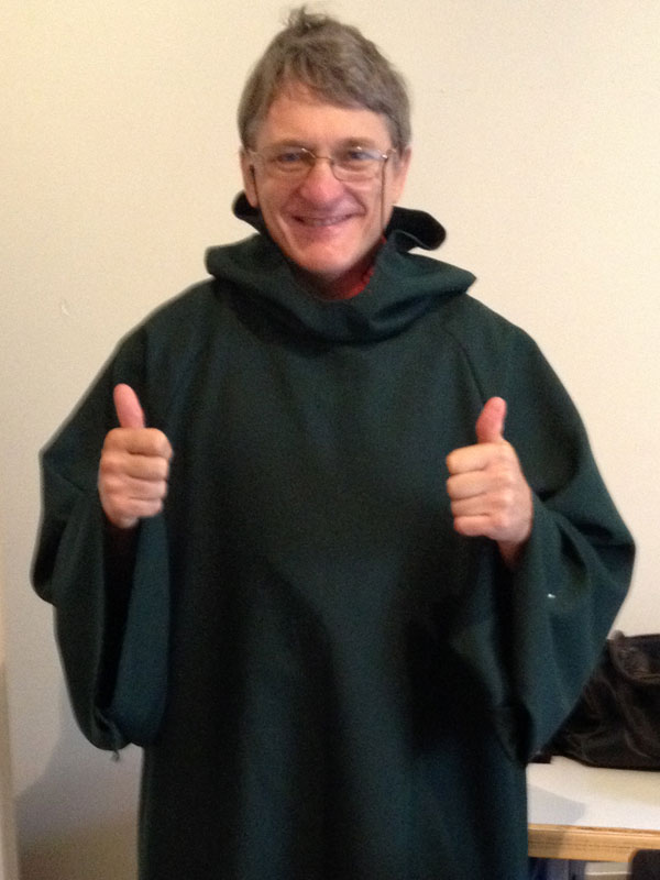 The Fighting Fathers' monastic smock
