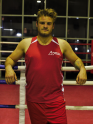 Fighting Fathers' boxing singlet - red